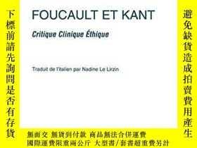 二手書博民逛書店Foucault罕見Et KantY364682 Fimiani Mariapaola L harmattan