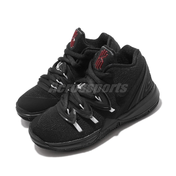 Nike Kyrie 5 PS 黑 白 中童鞋 小朋友 運動鞋 厄文 明星款【ACS】 AQ2458-016