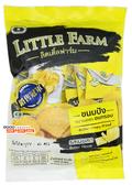 【吉嘉食品】LITTLE FARM 小農莊 吐司餅乾(奶油) 每包55公克,產地泰國,流淚小吐司 [#1]{8853930001430}