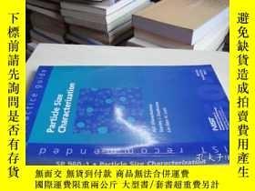 二手書博民逛書店SP罕見960-1·Particle Size Characte