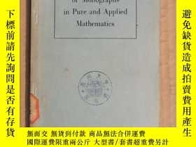 二手書博民逛書店international罕見series of monographs in pure and applied m