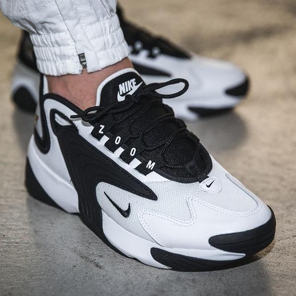 現貨 NIKE ZOOM 2K 黑白 老爹鞋 男鞋 跑步 慢跑 熊貓鞋 情侶款 AO0269-101