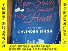 二手書博民逛書店Love罕見Stories That Touched My He