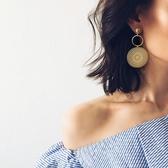 大小圓圈耳環女氣質韓國個性百搭歐美夸張耳墜耳飾潮人巴洛克耳環