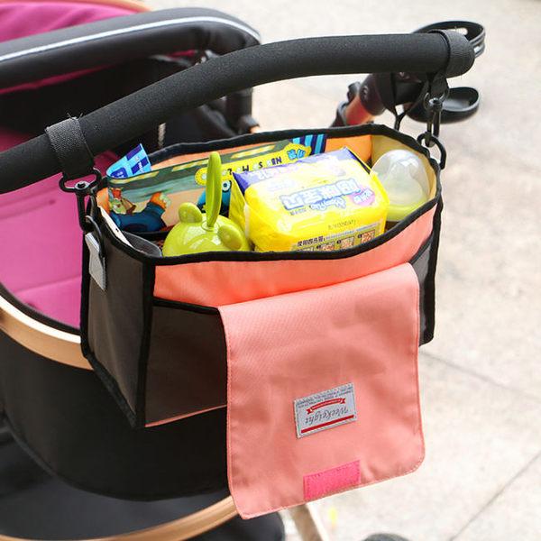 《WEEKEIGHT》韓版多功能母嬰用品收納包中包/嬰兒手推車吊掛包