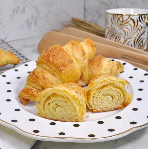 可頌-原味 200g(4入裝)/袋裝 愛家非基改純淨素食 香濃純素點心 全素美味輕食 VEGAN Croissant
