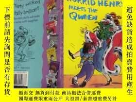 二手書博民逛書店horrid罕見henry meets the queen: 可怕的亨利遇見了女王..…Y200392