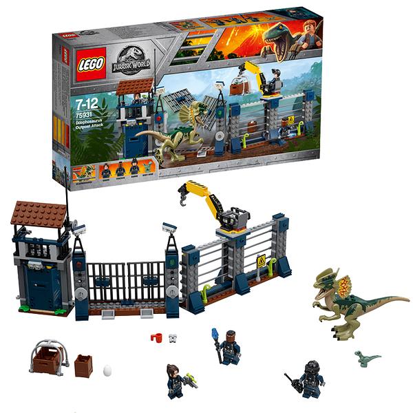 樂高 LEGO 75931 侏羅紀世界2:殞落國度 DILOPHOSAURUS OUTPOST ATTACK