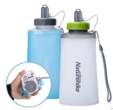 [協貿國際]   500ml水杯折疊水壺戶外旅遊飲水袋  (1入)