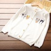 新款韓版百搭兒童寶寶圓領毛衣外套
