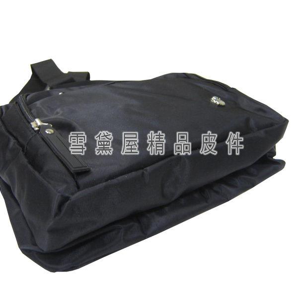 ~雪黛屋~ITALI DUCK 斜側包小容量二層主袋肩側中性款男女全齡適用防水尼龍布材質台灣製造ID212