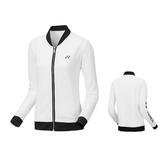 Yonex [250097BCR011] 女 外套 運動 舒適 透氣 吸汗 速乾 防曬 保暖 白黑