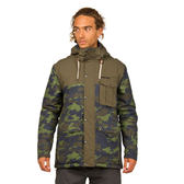 PROTEST 男 防水保暖外套 (迷彩綠) WALTER SNOWJACKET