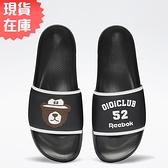 【現貨】REEBOK X OIOI 男鞋 女鞋 拖鞋 聯名 小熊 休閒 黑【運動世界】GZ8777