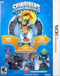 3DS Skylander s Spyro s Adventure Starter Pack 寶貝龍冒險(美版代購)