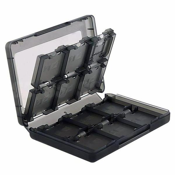 New 3DS LL 卡盒 28合1 遊戲卡帶盒 遊戲收納盒 卡帶盒 3DS 收納盒