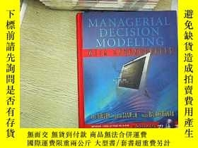 二手書博民逛書店Managerial罕見Decision Modeling Wi