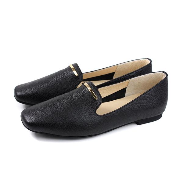 HUMAN PEACE 休閒鞋 方頭鞋 黑色 荔枝紋 女鞋 S232 no642