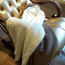 小毛毯沙發蓋毯羊羔絨