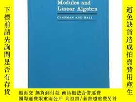 二手書博民逛書店Rings,罕見Modules And ar Algebra (chapman & Hall Microbiolo