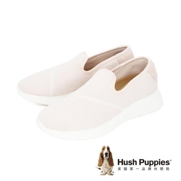 【南紡購物中心】Hush Puppies (女)網布內增高自尊鞋休閒鞋 女鞋-粉(另有黑.灰)