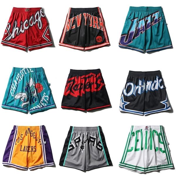 MITCHELL & NESS M&N 球褲 BIG FACE JERSEY 2.0 大LOGO (布魯克林) MN21ASH01-