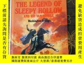 二手書博民逛書店THE罕見LEGEND OF SLEEPY HOLLOW AND RIP VAN WINKLE(精裝)Y177