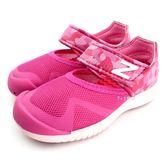 《7+1童鞋》小童 NEW BALANCE KA208PKI 輕量 護趾 寶寶涼鞋 9387 粉色