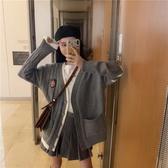 特賣毛衣女寬鬆外穿新款秋冬長袖針織開衫學生韓版慵懶風外套上衣