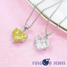 FU飾品 流行飾品   閃耀之心鋯石項鍊【Fulgor Jewel】