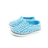 native MILES PRINT 懶人鞋 洞洞鞋 藍色 小童 童鞋 13104601-8615 no752