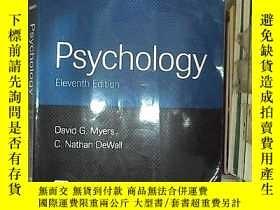 二手書博民逛書店PSYCHOLOGY罕見ELEVENTH EDITION 心理學第十一版Y203004