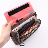 旅行小包護照包證件袋多功能斜背包防盜貼身小掛包【聚寶屋】