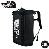 【The North Face 26L EXPLORE FUSEBOX 後背包《黑》】3KYF/雙肩背包/書包/防水背包/電腦包