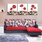 【優樂】無框畫裝飾畫走廊沙發背景裝飾客廳餐廳臥室壁畫三聯畫石頭花朵