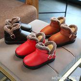 新款兒童棉鞋防滑雪地靴韓版鞋女童鞋男童鞋童嬰兒學步軟底鞋 莫妮卡小屋