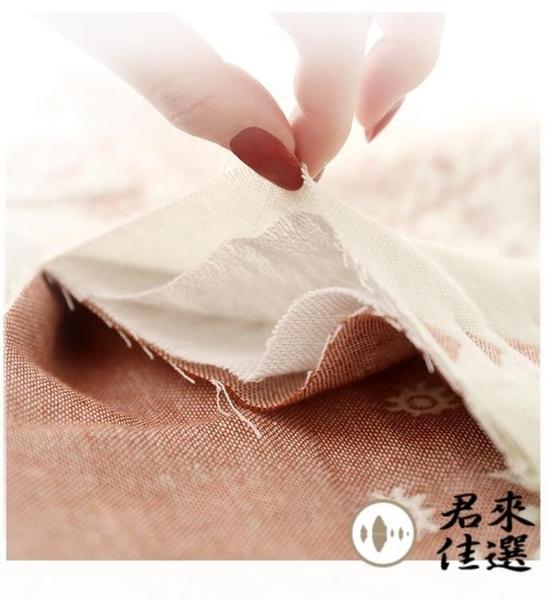 一對裝枕巾純棉家用單人藍色宿舍雙層紗布防滑不脫落【君來佳選】