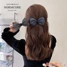 髮夾同款蝴蝶結發夾夾子頭飾女夏網紅2021年新款發卡頂夾發飾2021 愛丫 新品