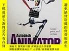 二手書博民逛書店AUTODESK罕見ANIMATORY12800 AUTODESK 見圖 出版1995
