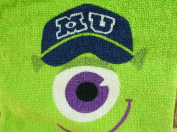 【震撼精品百貨】Monsters University_怪獸大學~絨毛束口袋-大眼仔
