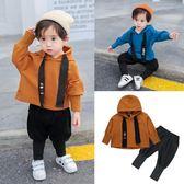 童裝男童秋裝新品新款兒童套裝寶寶洋氣秋季韓版帥氣潮衛衣兩件套 跨年鉅惠85折