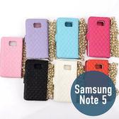 SAMSUNG 三星 Note 5 小羊皮山茶花珍珠長鏈皮套 插卡 側翻 手機套 手機殼 保護套 配件