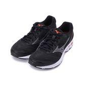 MIZUNO WAVE RIDER 22 慢跑鞋 黑紅 J1GC183212 男鞋