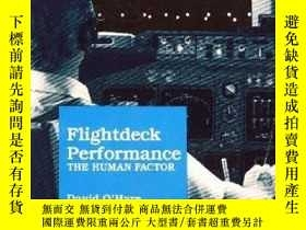 二手書博民逛書店Flightdeck罕見Performance: The Human Factor-飛行甲板性能:人為因素Y4