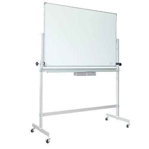 【磁性白板】FH305 高密度單面磁性白板+迴轉架 (3尺×5尺)