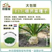 【綠藝家】大包裝F17.根芹菜種子0.28克(約620顆)