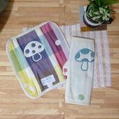 日本Hoppetta磨菇背袋口水巾9*22.5cm -超級BABY