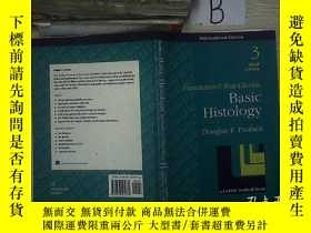 二手書博民逛書店Basic罕見Histology third Edition 基礎組織學第三版Y261116