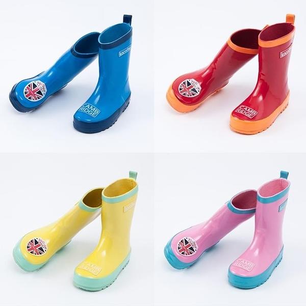 兒童雨鞋寶寶雨靴防滑男女童雨鞋中大童膠鞋【聚寶屋】