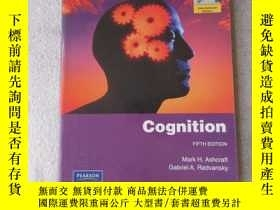 二手書博民逛書店Cognition:罕見Pearson Internationa